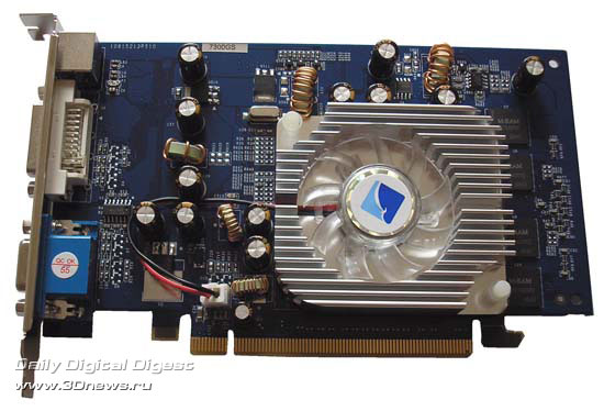 Albatron GeForce 7300GS спереди
